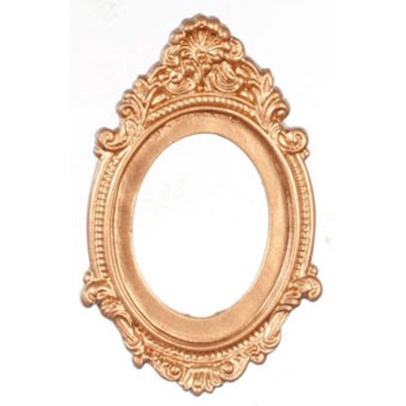 Dollhouse Antique Oval Frame/Gold - Walmart.com