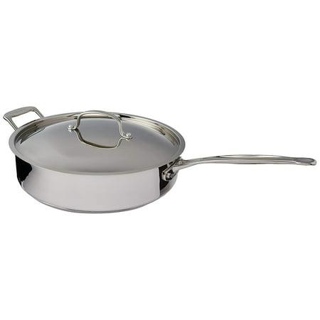 Cuisinart Chef'S Classic Stainless Steel 5.5 Qt. Sauté Pan W/Helper Handle & Cover