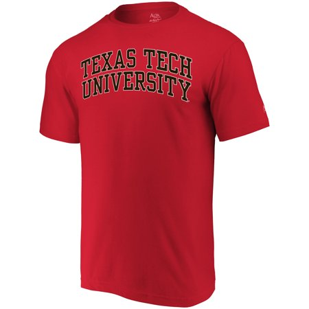 Tech Red Raiders 4 Light - Texas Tech Red Raiders Alta Gracia (Fair Trade) Arched Wordmark T-Shirt - Red