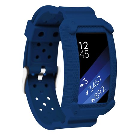 Moretek Gear Fit2&Fit 2 Pro Watch Bands , Protective Case Cover Wrist Strap Band for Samsung Gear fit 2 fit 2 pro Smartwatch