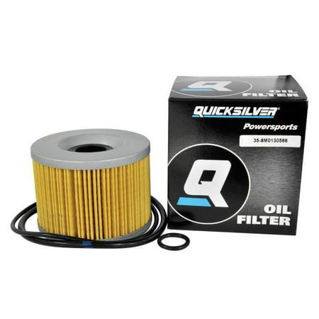 Quicksilver Oil Filter Element (8M0130566) Honda, Kawasaki, Triumph Motorcycles