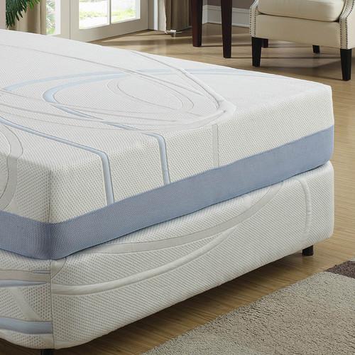ac pacific 12 39 39 firm gel memory foam mattress. Black Bedroom Furniture Sets. Home Design Ideas