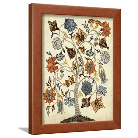 Vintage Tree of Life Framed Print Wall Art By Naomi McCavitt ()