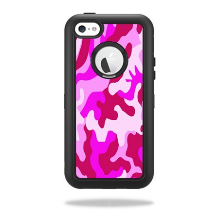 skin decal wrap for otterbox defender iphone 5c case sticker pink camo. Black Bedroom Furniture Sets. Home Design Ideas