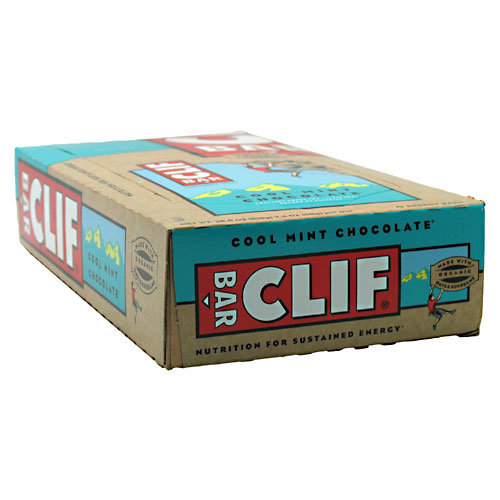 CLIF ENERGY BAR - Cool Mint Chocolate - (2.4 oz, 24 Count)