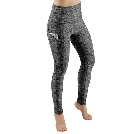 Tuscom Women Workout Out Pocket Leggings Fitness Sports Gym Running Yoga Athletic (Women And Running)