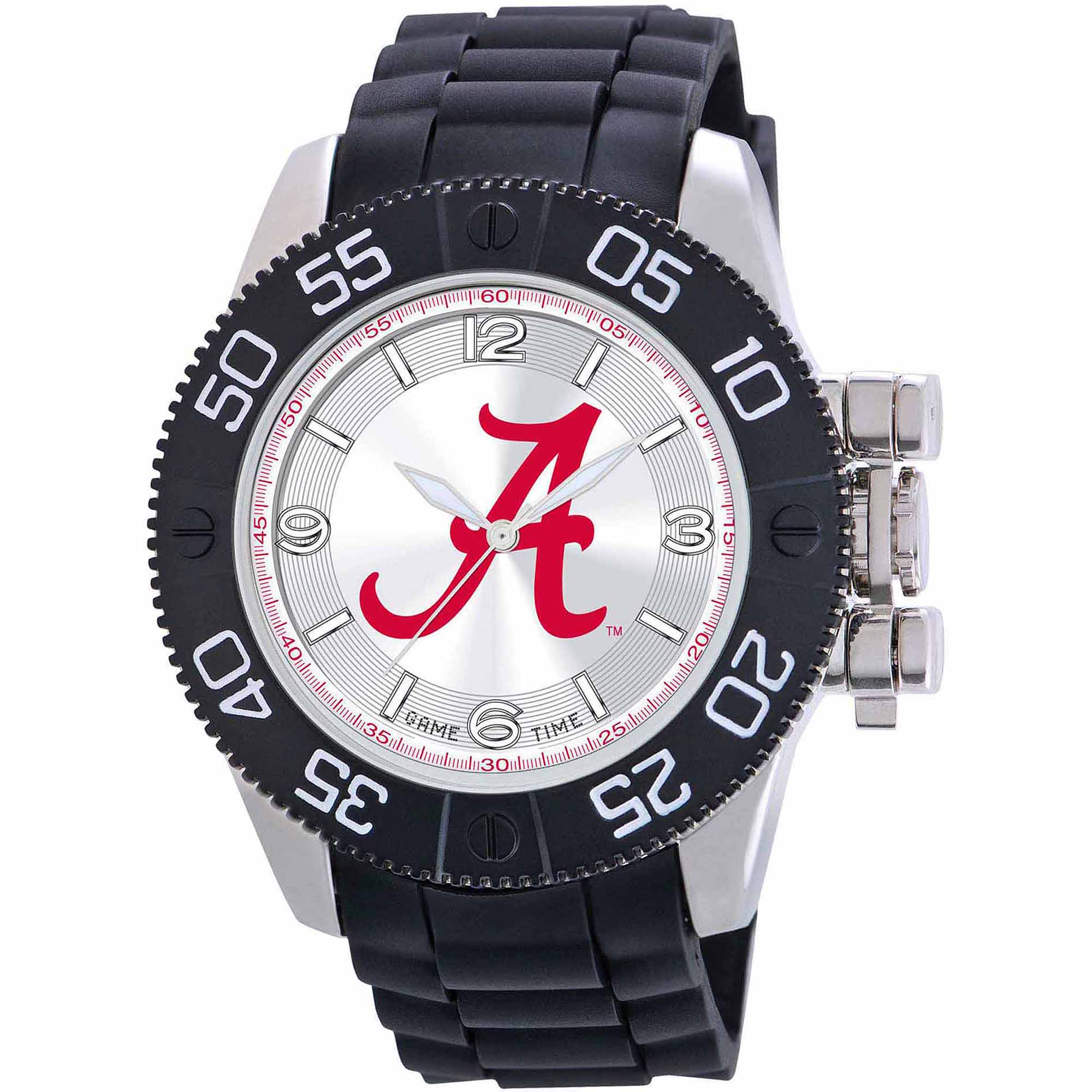 Game Time NCAA Men's University of Alabama Crimson Tide Beast Series Watch