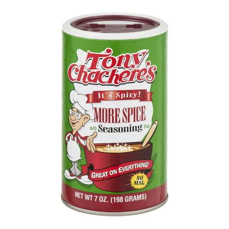 Tony Chacheres More Spice Seasoning  7 0 Oz