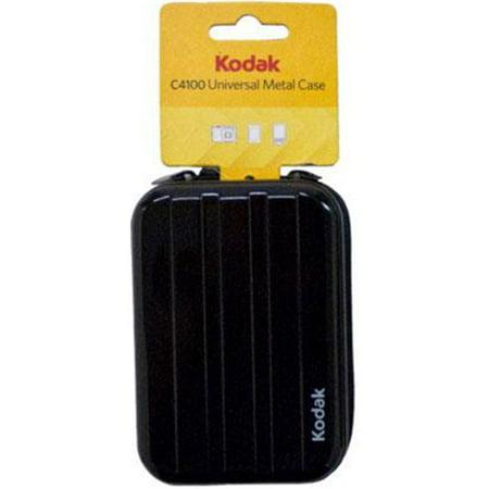 Kodak Universal Metal Case for Digital Cameras, MP3 Players, Cell Phones and iPods KDC4100   Kodak C4100 Universal Metal Case (Black)
