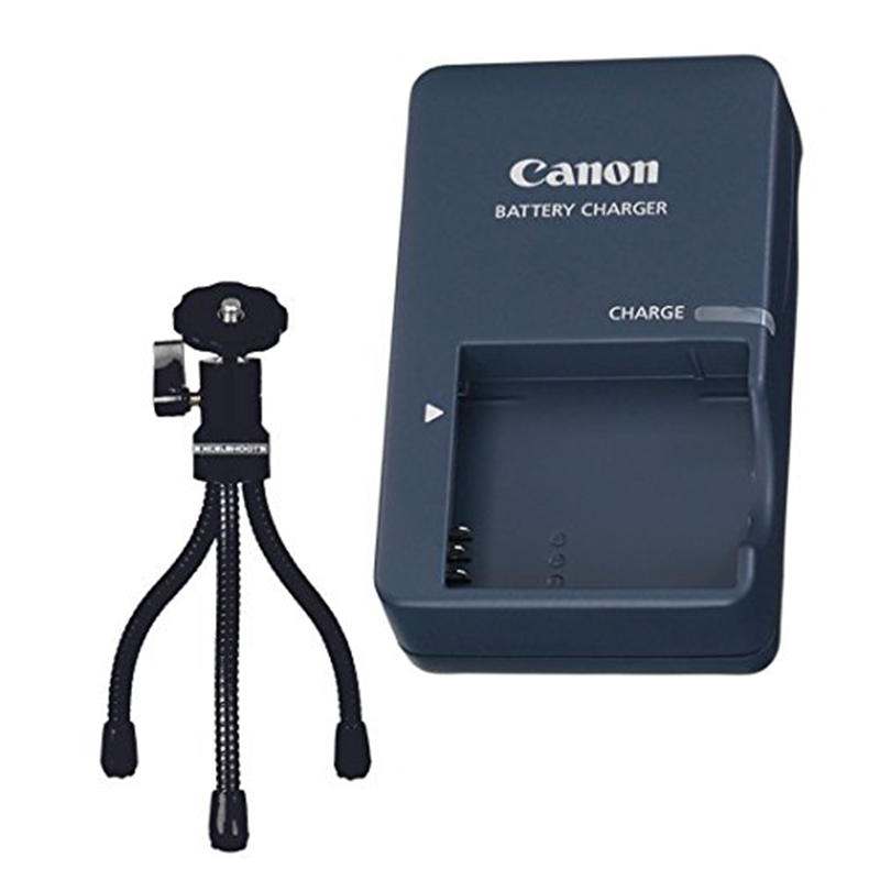 ExcelShots Kit: CB-2LV Battery Charger for Canon NB-4L Ba...