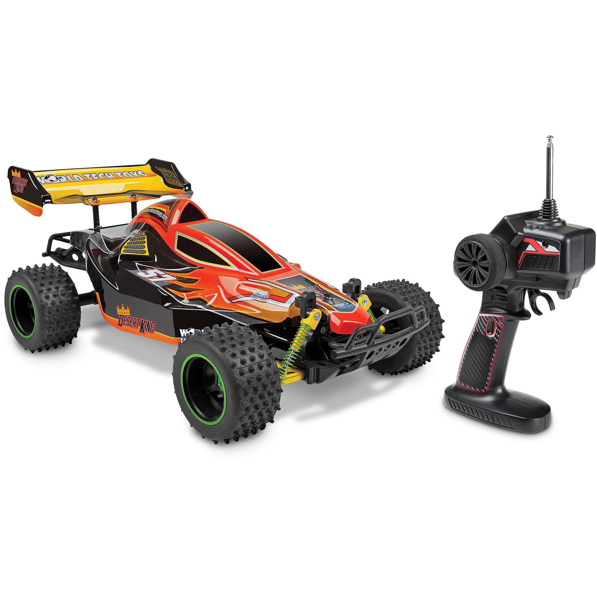 World Tech Toys 1 10 Desert King RC Buggy Walmart