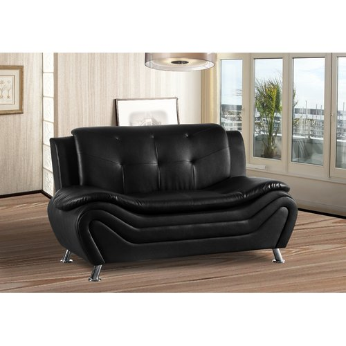 Orren Ellis Bobo Living Room Loveseat