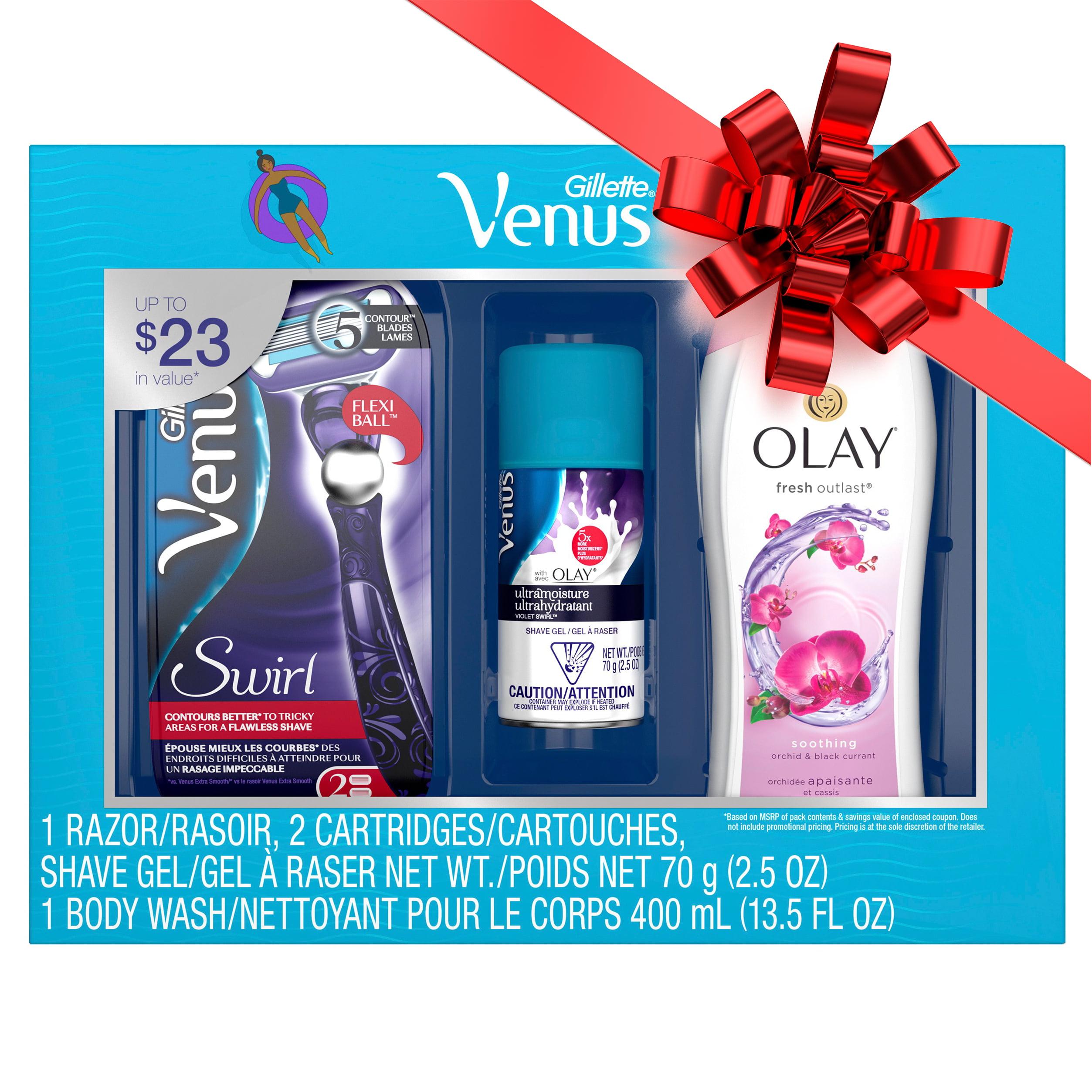 Gillette® Venus Swirl Razor Gift Pack
