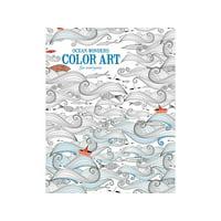 Leisure Arts Inc Color Art for Everyone Ocean Wonders Coloring Book, 1 Each