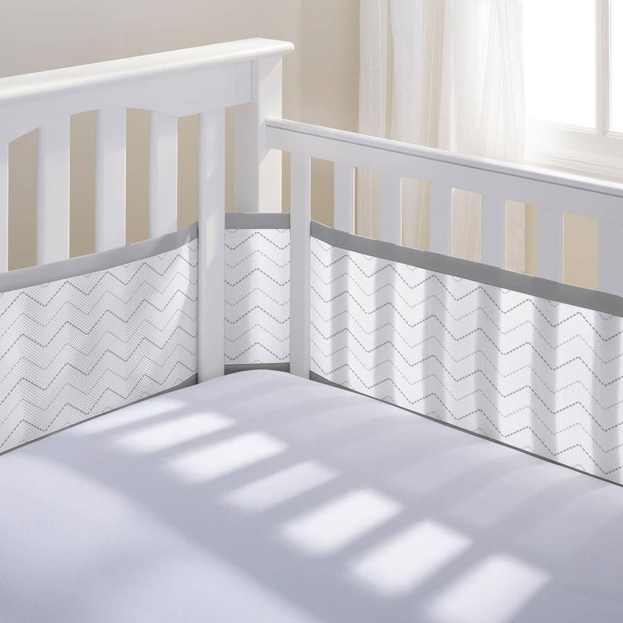 Breathable Mesh Printed Crib Liner