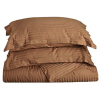 Impressions Gelhorn Stripe 400-Thread Count Solid Combed Cotton Duvet Cover Set