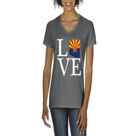Love Arizona Women V-Neck