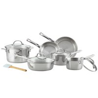 Ayesha Curry Stainless Steel Cookware Set, 11-Piece