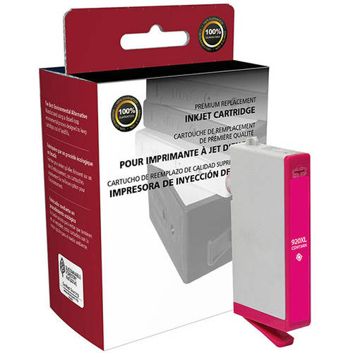 CIG Remanufactured High Yield Magenta Ink Cartridge (Alternative for HP CD973AN 920XL) (700 Yield)