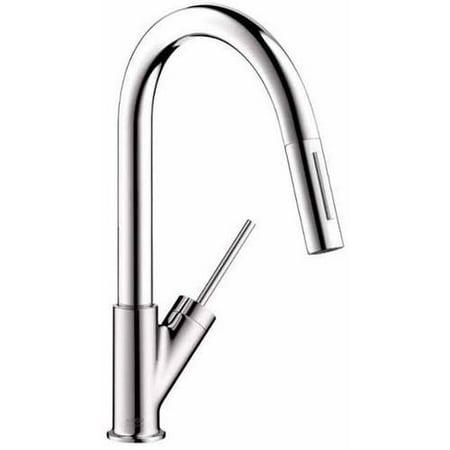Hansgrohe Axor 10824801 Starck Pull-Down Prep Kitchen Faucet, Various Colors