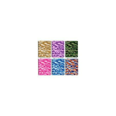 9df9f1cda099 (Price/Case of 24)Bazic Products 5480-24 C/R 70 Ct. 1-Subject Camouflage  Spiral Notebook