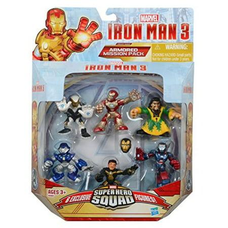Super Hero Squad, Iron Man 3 Exclusive Figure Set, Iron Man Mark 42, Ghost Armor, Deep Depth, Rapid Deploy, Iron Patriot and Man - Ghost Armor Coupon