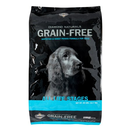Potato Dry Food Formula - Diamond Grain-Free Whitefish & Sweet Potato Formula Dry Dog Food, 28 Lb