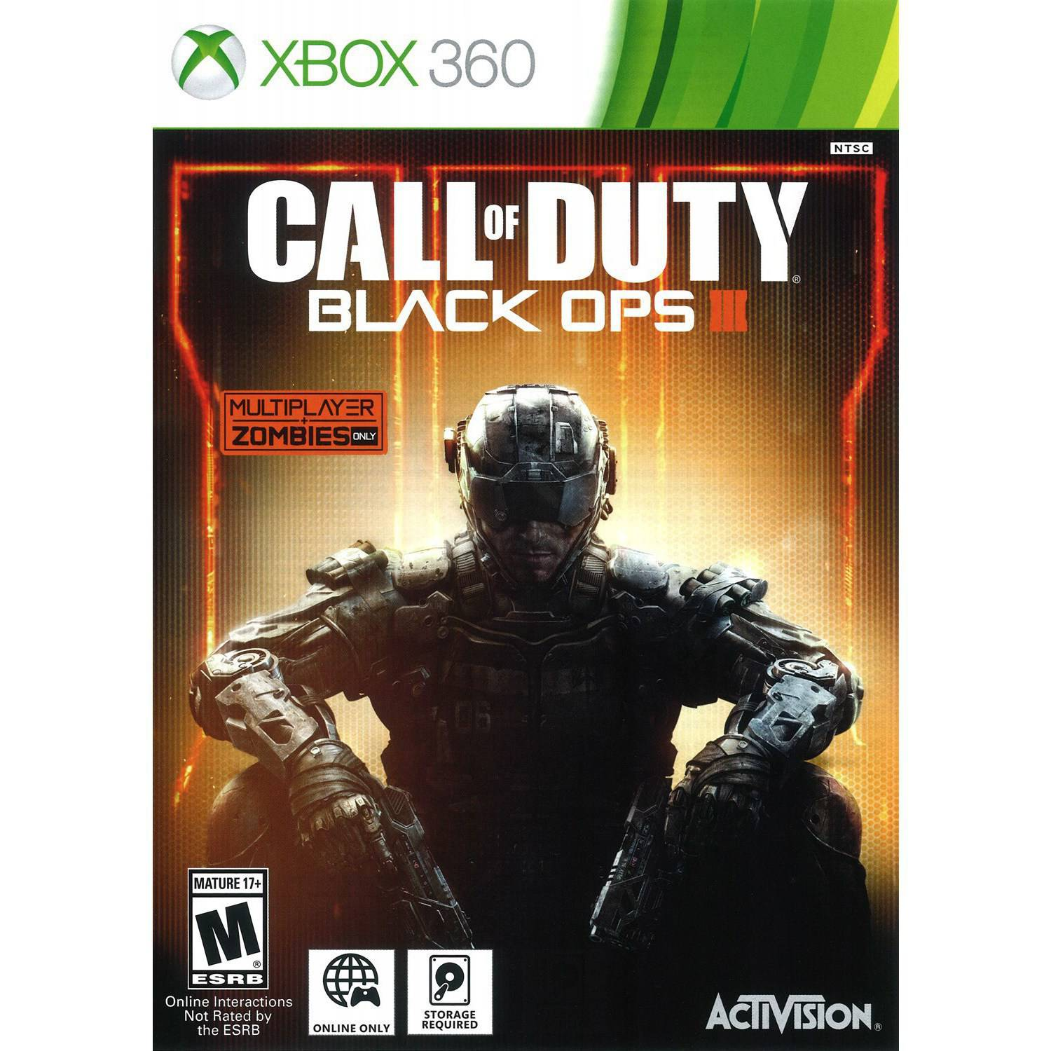 Call Of Duty Black Ops 3 (Xbox 360) - Pre-Owned