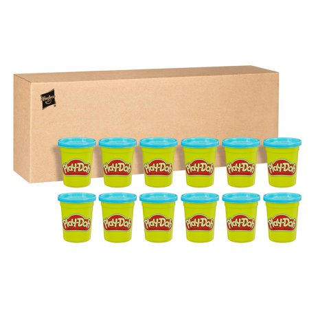 Play-Doh Bulk 12-Pack of Blue Non-Toxic Modeling Compound, 4-Ounce Cans ()