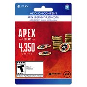 Apex Legends™ – 4,000 (+350 Bonus) Apex Coins, Electronic Arts, Playstation, [Digital Download]
