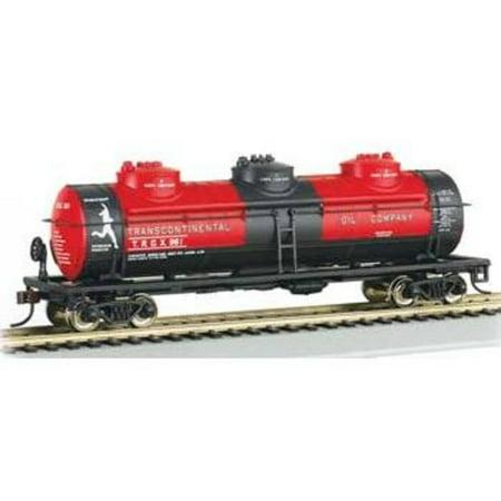 17142 40' 3-Dome Tank Transcontinental Oil TROX #961 (Transcontinental Oil)