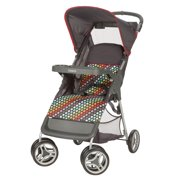 Cosco Lift and Stroll Convenience Stroller, Rainbow Dots
