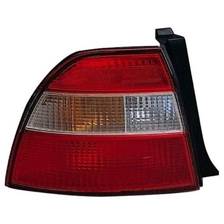 Honda Accord Tail Light Cover (Go-Parts » 1994 Honda Accord Rear Tail Light Lamp Assembly Housing / Lens / Cover - Left (Driver) Side - (4 Door; Sedan + 2 Door; Coupe) 33551-SV4-A01 HO2818105 Replacement For Honda Accord)