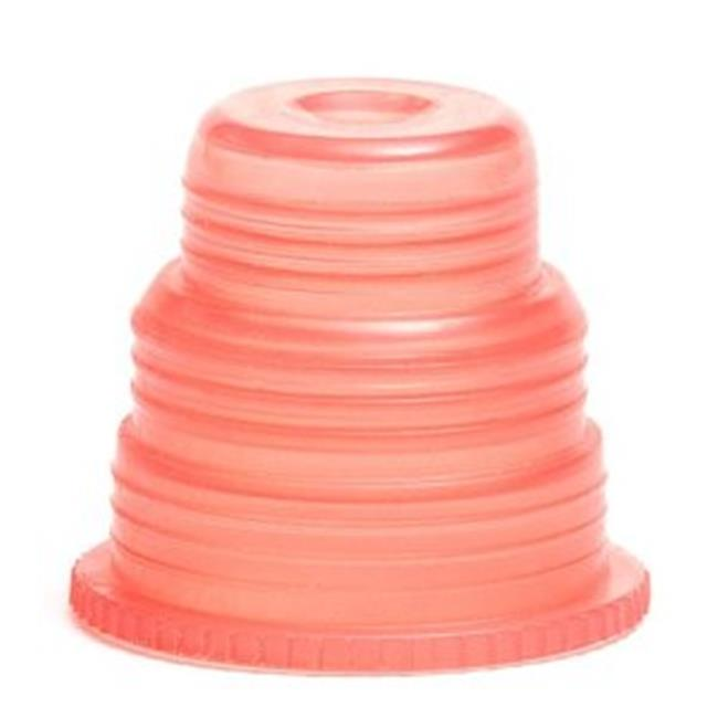 Bio Plas 8355 Hexa-Flex Safety Caps for 10mm, 12mm, 13mm, 16mm, 18mm Tubes 500 pk - Red