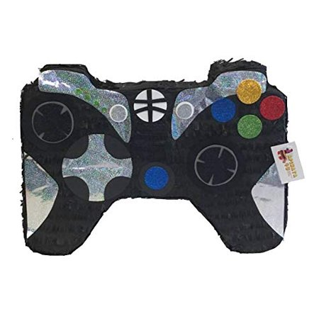 APINATA4U Large Video Game Controller Gamer Party Favor Black Color - Large Group Halloween Party Games