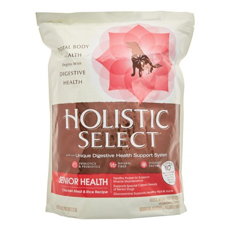 Holistic Select Natural Dry Dog Food Duck  Pound Bag