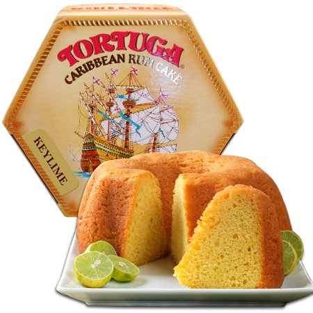 Tortuga Caribbean Rum Cake, 4 ounce Key Lime Flavored ()
