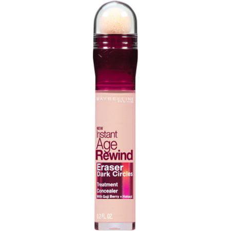 Maybelline Instant Age Rewind Eraser Dark Circles Treatment Concealer, Brightener, 0.2 oz