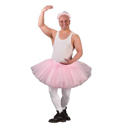 tutu grande adult funny mens halloween ballerina costume image 1 of 2 - Halloween Ballet Costumes