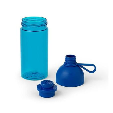 LEGO 17oz Hydration Bottle, Bright Blue (Personalized Lego Water Bottle)