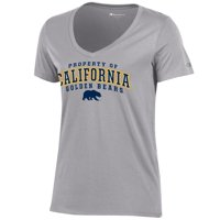 8de22db9d8ff16 Product Image UC Berkeley Cal Champion Women's T-Shirt-Gray