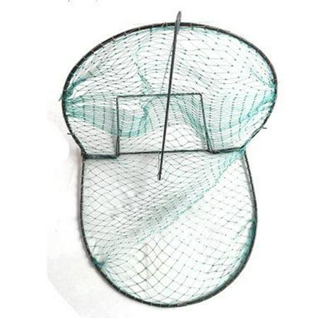 Foldable Bird Net Humane Live Trap Sparrow Pigeon Quail Hunting Mesh Tools Color:green