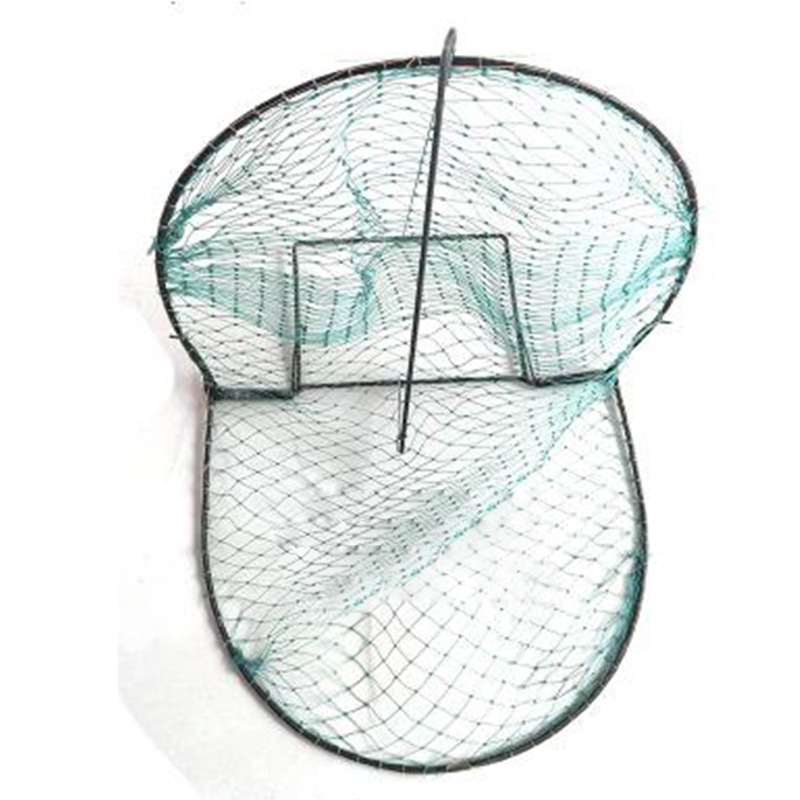 Foldable Bird Net Humane Live Trap Sparrow Pigeon Quail Hunting Mesh Tools Color:green
