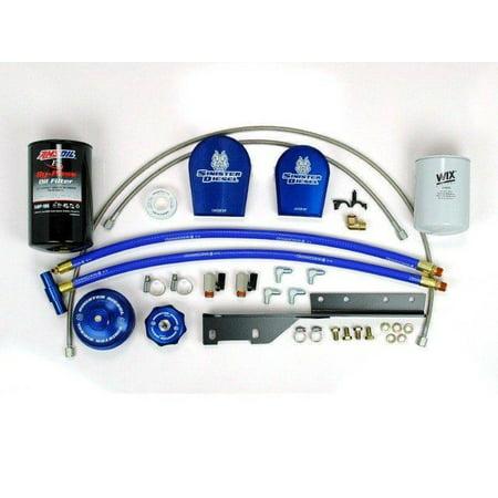 - Sinister Diesel 03-07 Ford Coolant Filter Retro Fit Kit