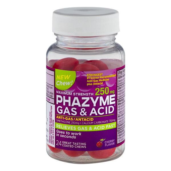 Phazyme Ultra Strength 180 mg Anti-Gas Simethicone Softgels, 12 Ct