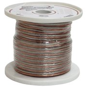 Pyramid Rsw18500 18 Gauge 500 Ft. Spool Of High Quality Speaker Zip Wire