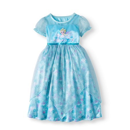 Cheap Frozen Dresses (Frozen Elsa Short Sleeve Fantasy Nightgown (Toddler)
