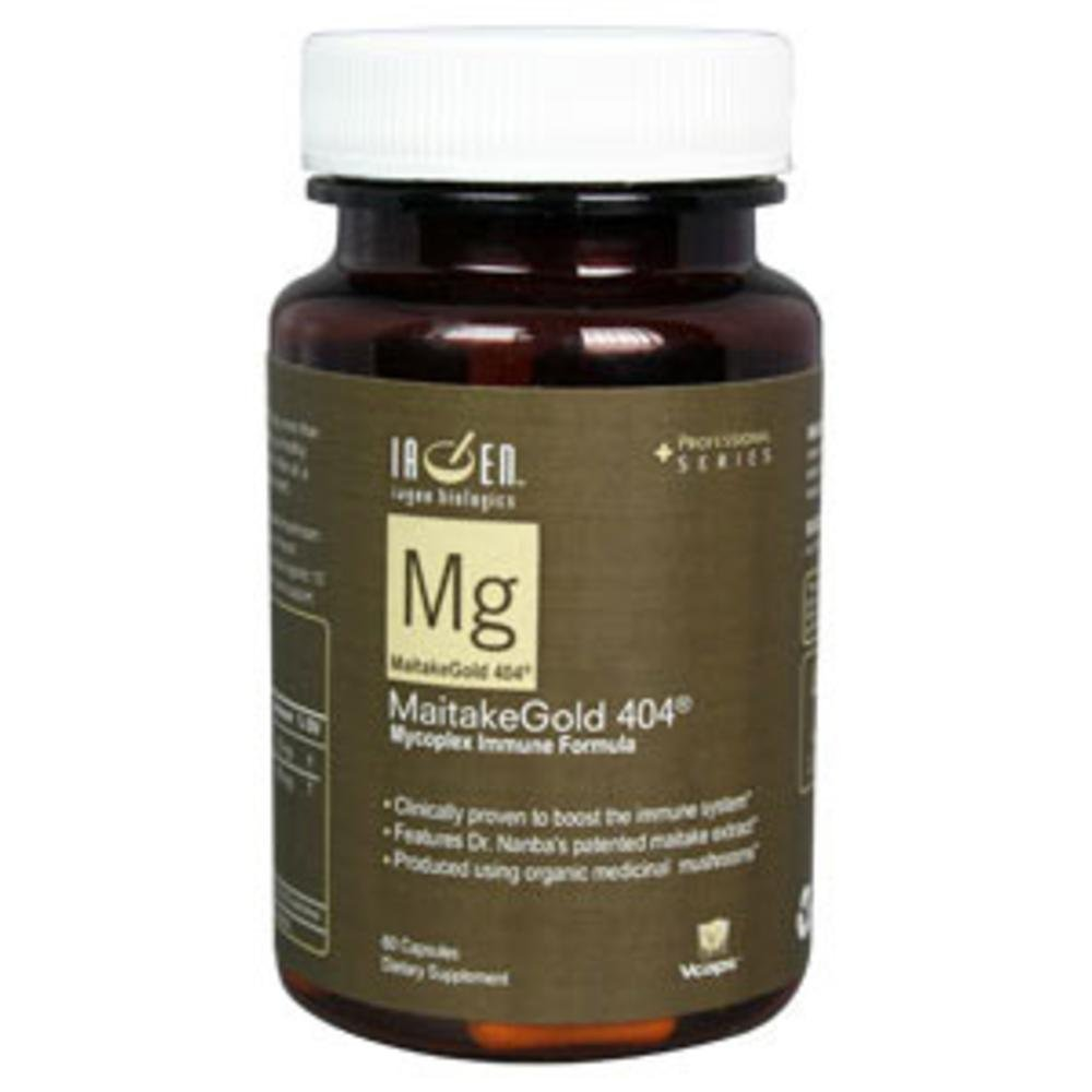 Iagen Naturals MaitakeGold 404 Patented 60 vcaps