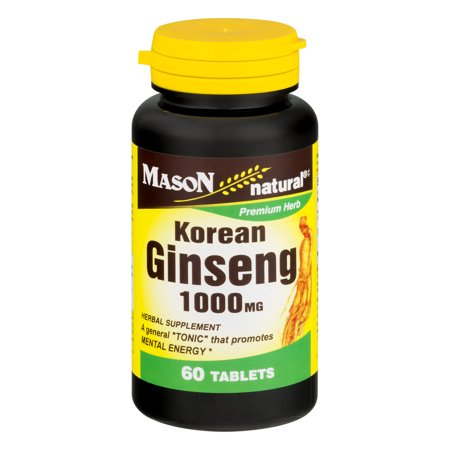 (Mason Natural Korean Ginseng 1000 MG - 60 CT)