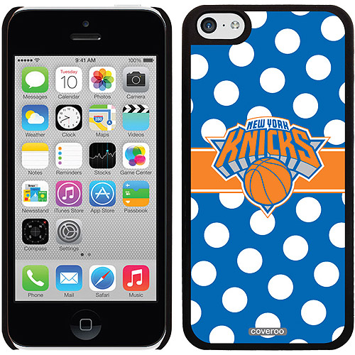 New York Knicks Polka Dots 2 Design on Apple iPhone 5c Thinshield Snap-On Case by Coveroo